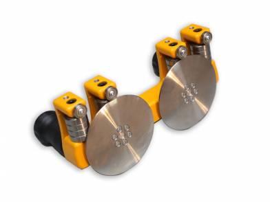 Ручные роликовые листогибы, Metal Master MRB DUO DISC (40mm)